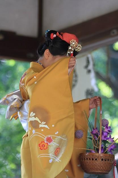 IMG_7099梨木神社・萩まつり・京舞・篠塚流