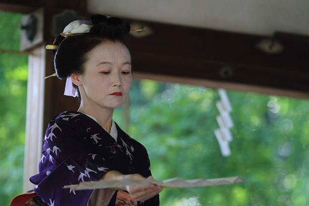 IMG_7189梨木神社・萩まつり・京舞・篠塚流