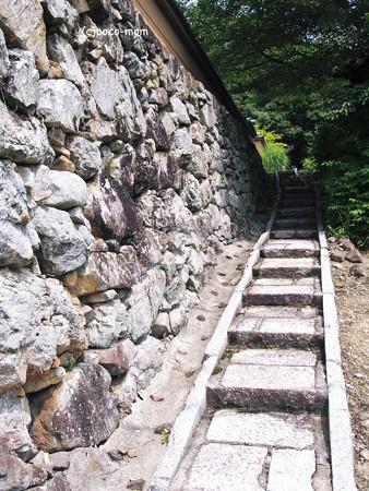 宝菩提院願徳寺 階段2014年07月21日_P7210077