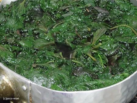 紫蘇ジュースを作る P7040425