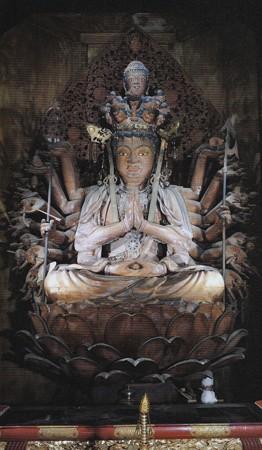 壷阪寺本尊 十一面観音坐像