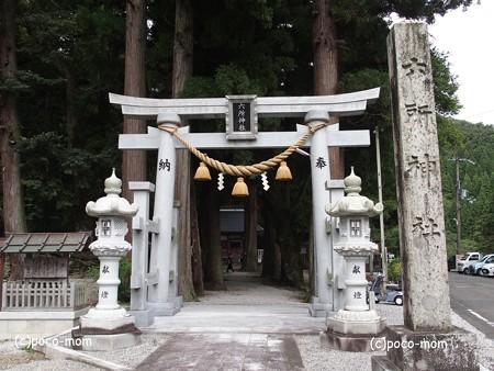 余呉町菅並 六所神社 P9250015