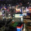 写真: 新宿エルタワーニコンプラザからの夜景
