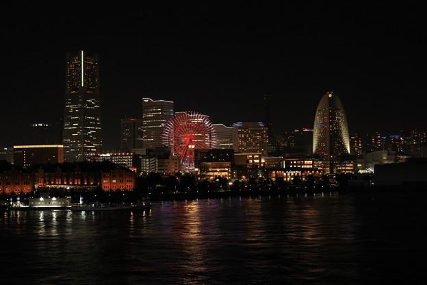 大桟橋夜景2題