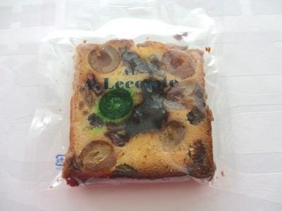 ルコントフルーツケーキ