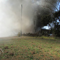 写真: 火事