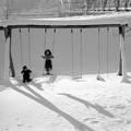 写真: 雪晴れ