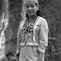 写真: 高砂族一の美人