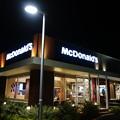 夜のMcDonald's