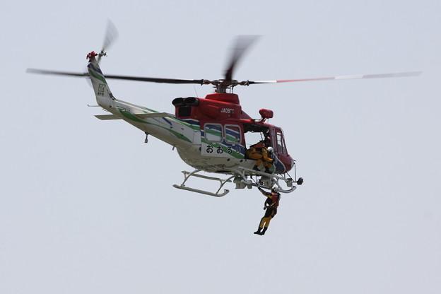 Photos: 栃木県消防防災ヘリコプター おおるり