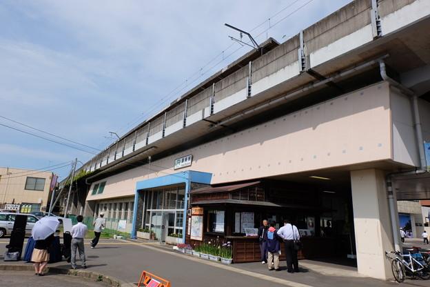 写真: 鹿島線 潮来駅