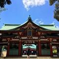 写真: 日枝神社 神門