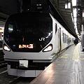 中央本線 新宿駅 特急かいじ123号