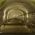 土合駅の階段を上から
