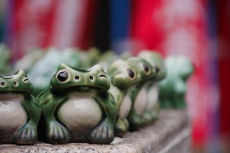 身代わり蛙