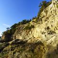 写真: 岩場