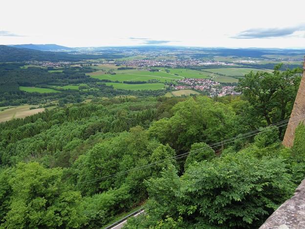 ホーエンツォレルン城からの展望