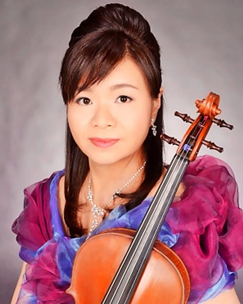 田中美恵子 たなかみえこ ヴィオラ奏者 ヴィオリスト     Mieko Tanaka
