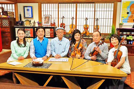 なんてったってヴィオラ 題名のない音楽会 テレビ朝日 2015/05/17