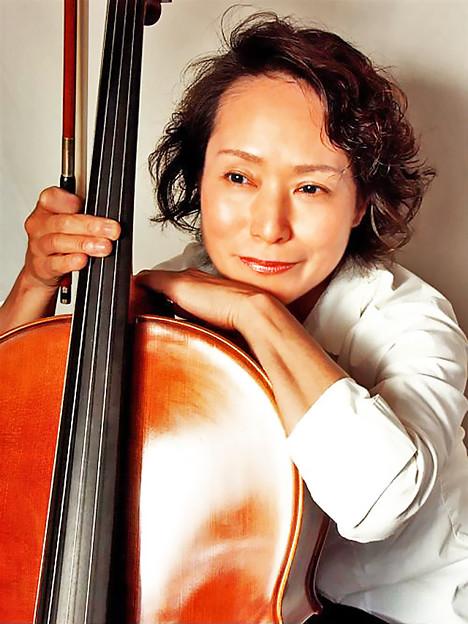 藤原真理 ふじわらまり チェロ奏者 チェリスト Mari Fujiwara