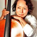 写真: 藤原真理 ふじわらまり チェロ奏者 チェリスト Mari Fujiwara
