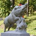 Photos: 和気神社狛猪