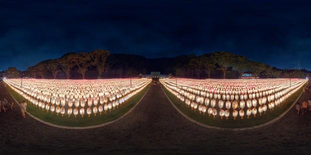 静岡護国神社 みたま祭 360度パノラマ写真(2) HDR