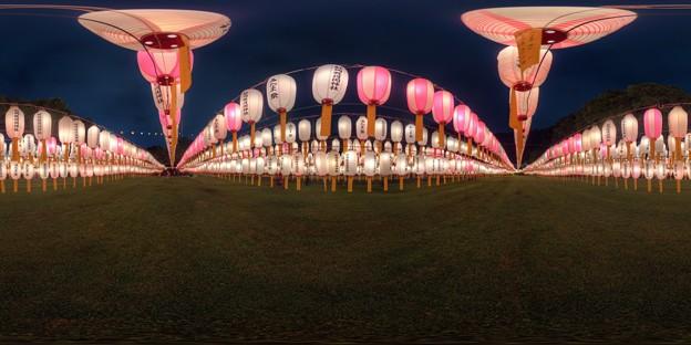 静岡護国神社 みたま祭 360度パノラマ写真(3) HDR
