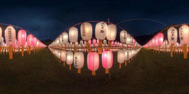 静岡護国神社 みたま祭 360度パノラマ写真(4) HDR