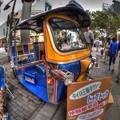 「トゥクトゥク(タイの三輪タクシー)」 タイフェスティバルin静岡 (8)