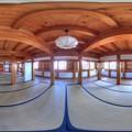 駿府城 巽櫓 内部 360度パノラマ写真 HDR