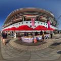 清水港 日の出埠頭 セレブリティミレニアム寄港 360度パノラマ写真(3) HDR
