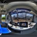静岡鉄道 A3000形 運転台 360度パノラマ写真 HDR