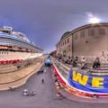 写真: 2016年7月18日 清水港 ダイヤモンドプリンセス寄港 360度パノラマ写真(3) HDR