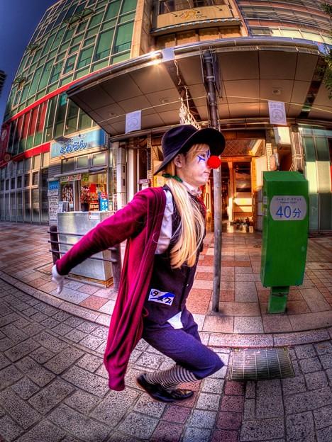 """""""市民クラウン""""(1) 大道芸ワールドカップin静岡2016"""