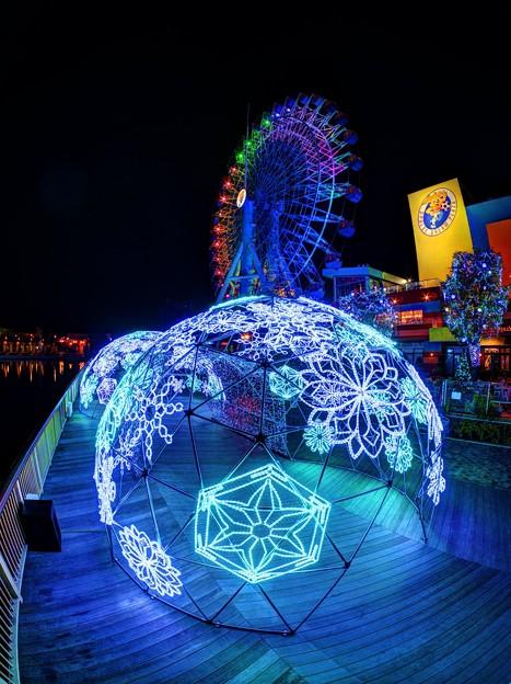 「清水港 海と光の空間」 清水港・エスパルスドリームプラザのイルミネーション(4)