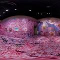 静岡県立美術館 「蜷川実花展」 360度パノラマ写真(2)