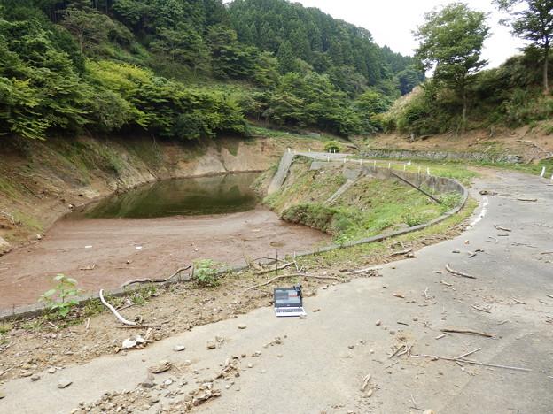 Photos: 宮ヶ瀬湖 湖面に続く道路