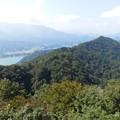 仏果山からみた宮ヶ瀬湖