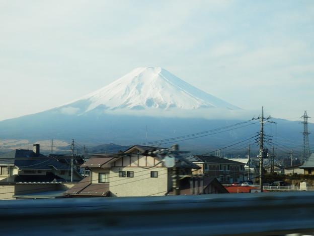 高速道路から富士山見てしまった(汗
