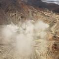 Photos: 2015年6月末に小噴火のあった地獄谷が眼下に^^