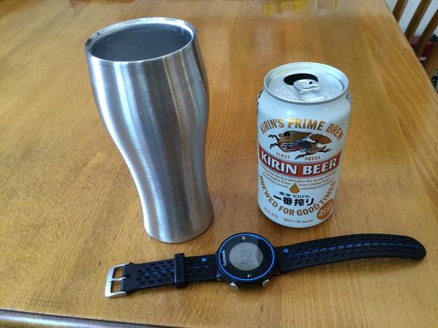 140726 朝からビール