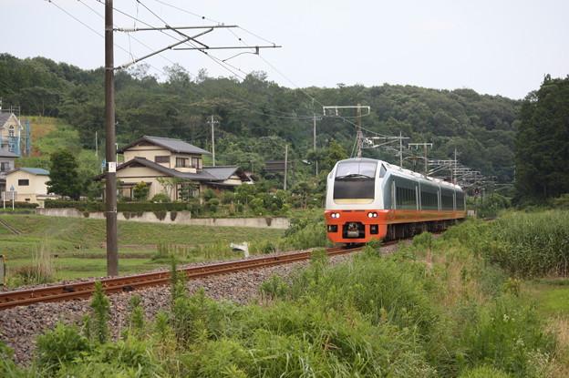 E653系K353編成 9744M 集約臨時列車