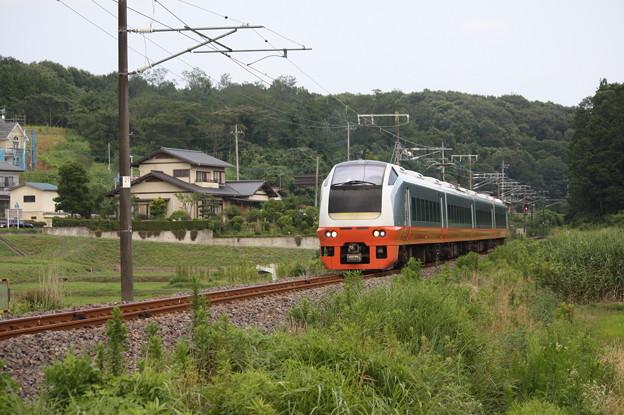 E653系K353編成 9744M 集約臨時列車 (2)