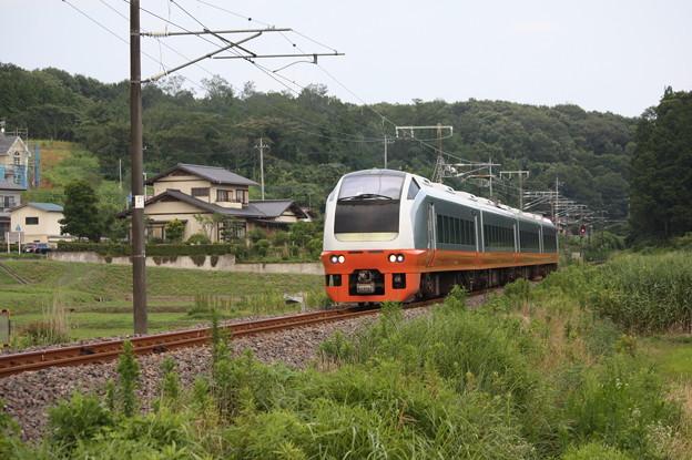 E653系K353編成 9744M 集約臨時列車 (3)