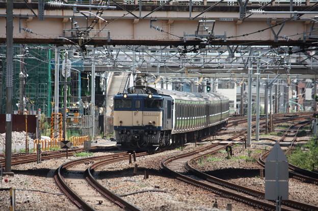 E231系500番台トウ520編成8両 新津配給 2