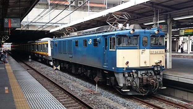 南武線 E233系8000番台N5編成 新津配給 iphoneで撮影