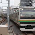 E231系1000番台U501編成 1866M 普通上野行
