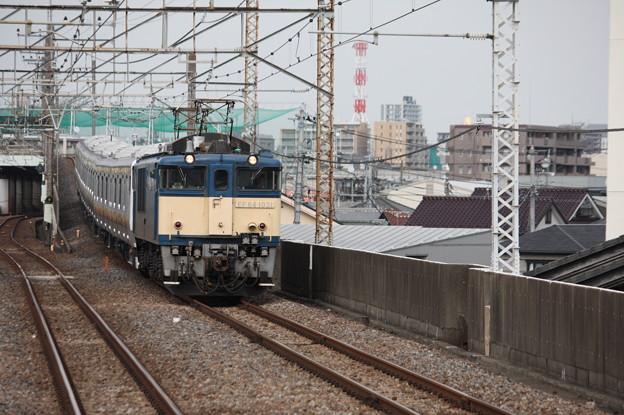 南武線E233系8000番台N5編成 配給輸送
