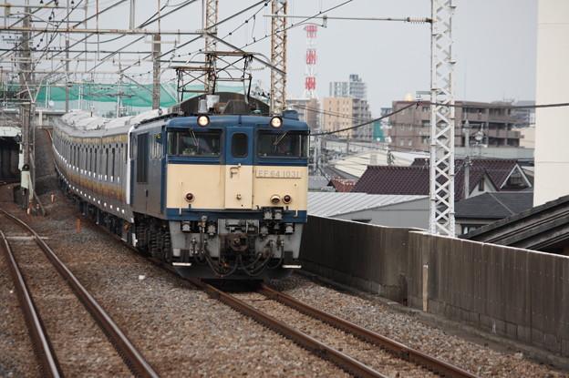 南武線E233系8000番台N5編成 配給輸送 4